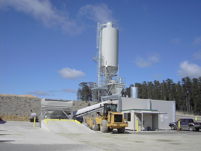 Concrete Plant Loader : Tylden equipment fixed concrete plants